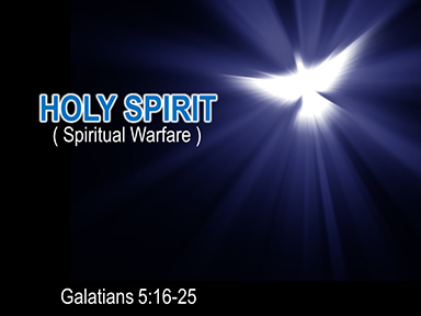 Spirit-warfare